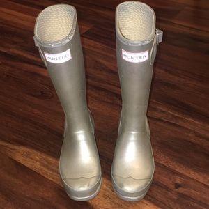 Girl's Hunter Original Metallic Rain Boot